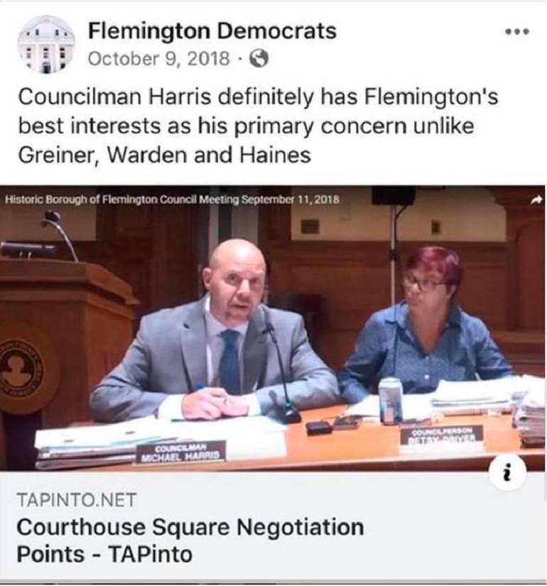 Flemington Democrats (10/3/18)
