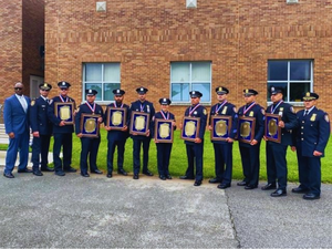 Elizabeth Police Sergeants and Officers Presented with Union County 200 Club Valor Awards