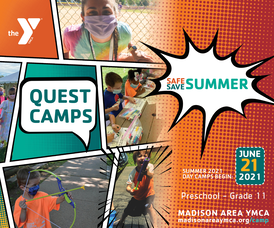 Madison Area YMCA Summer Day Camps Begin June 21