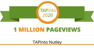 "TAPinto Nutley Welcomed into ""The 1 Million Pageview Club"""