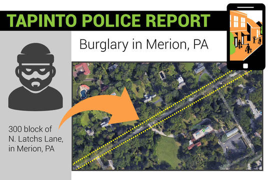 Top story d5b4fc65947766a6538e tap burglary map