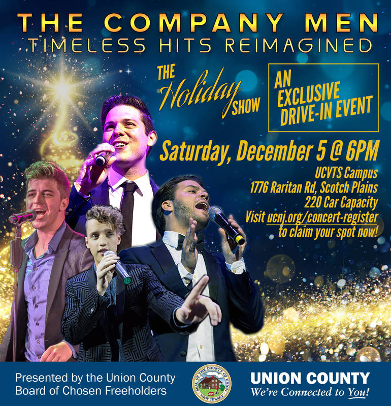 """Pop Music Quartet, The Company Men Present """"The Holiday Show"""" at Free Drive-In Concert"""