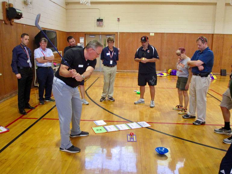 Linden to Tee Up Golf Program in Elementary School Gym Classes