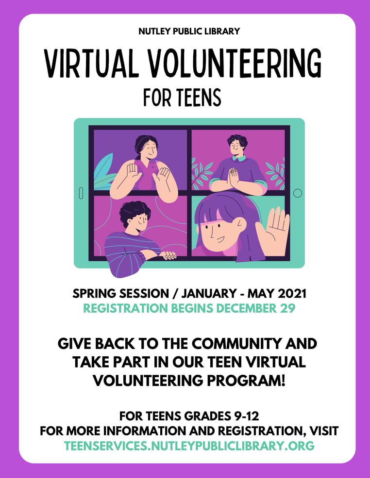 Virtual Volunteering for Teens