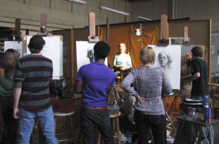 Teen Portfolio Development  - Immersion Workshop at duCret School of Art in Plainfield