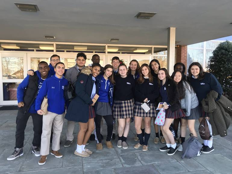 Union Catholic Students Attend Teen Hunger Summit