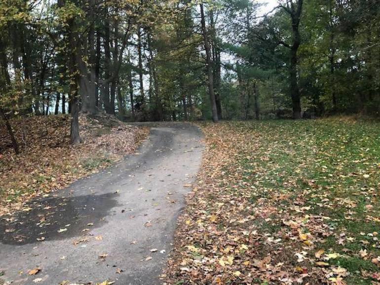 Terrill Middle School bike path in Scotch Plains.