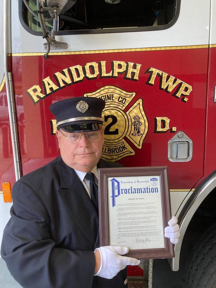 Special Proclamation to Firefighter Ted Carman in Recognition of His Career in Fire-Fighting