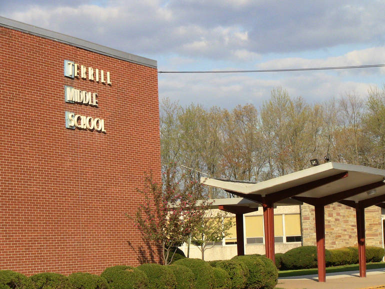 Terrill Middle School in Scotch Plains