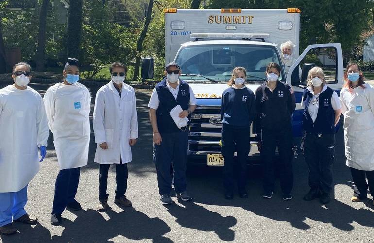 Through Pandemic's Challenges, Summit Volunteer EMS Squad Remains Constant Source of Care