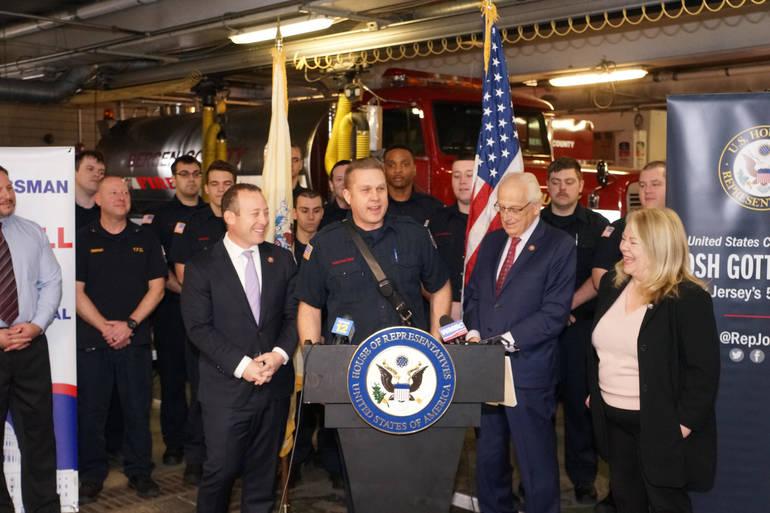 Teaneck Firefighters FMBA Local 42 President Steven Van Mater.jpg