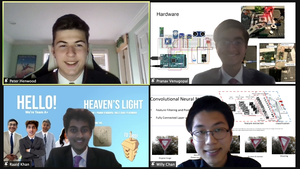 Chatham High Technology Club Places Second in 2021 Thomas Edison Pitch Contest with Idea for Innovative Traffic Lights