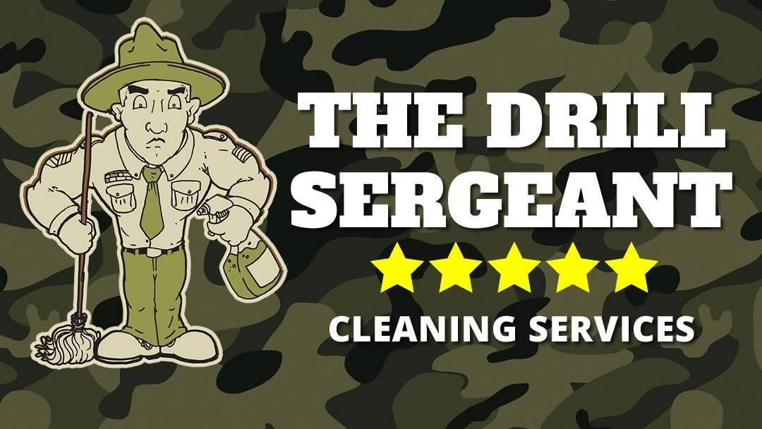 The Drill Sergeant Cleaning Services Logo
