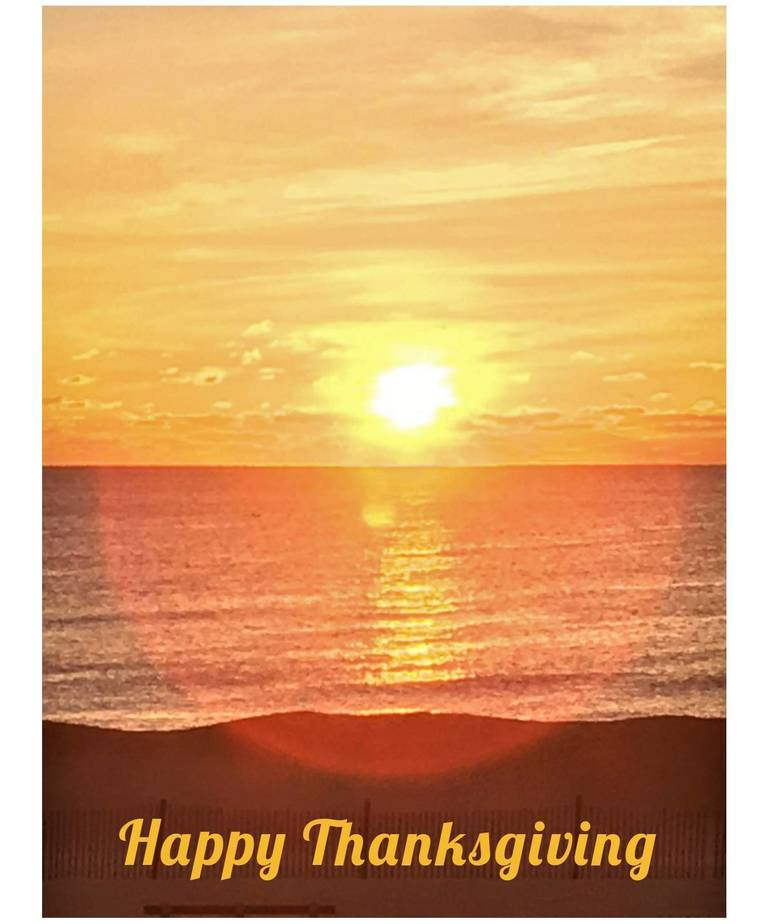 Giving Thanks … on Thanksgiving