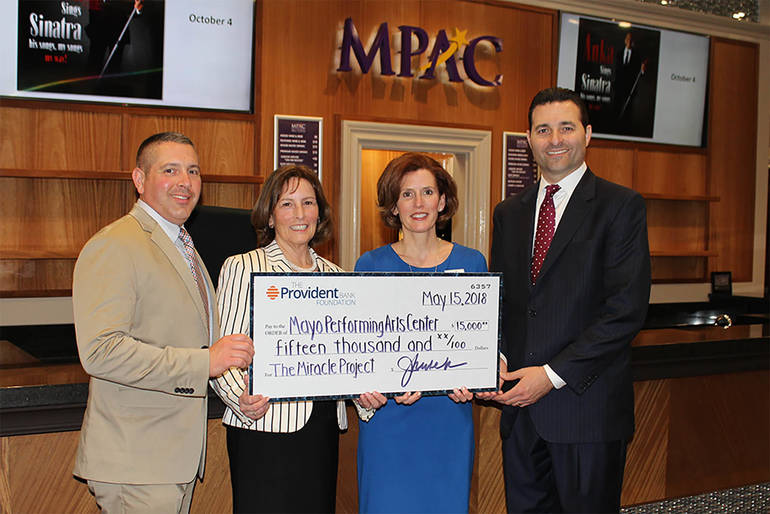 Mayo Performing Arts Center Receives $15,000 Grant for the Theatre's Miracle Project