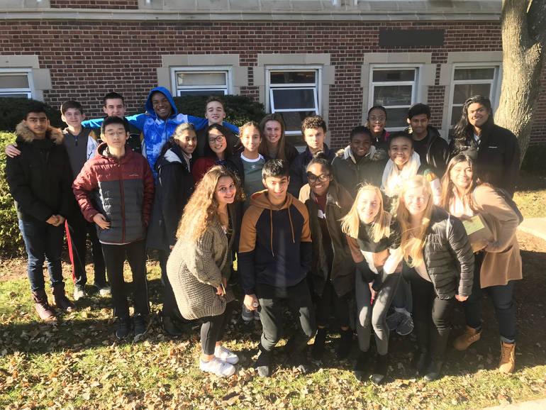Wardlaw+Hartridge StudentsAttend Teen Hunger Summit