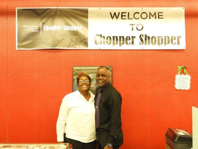 Thomas and Dionne Register, owners of Chopper Shopper.jpg