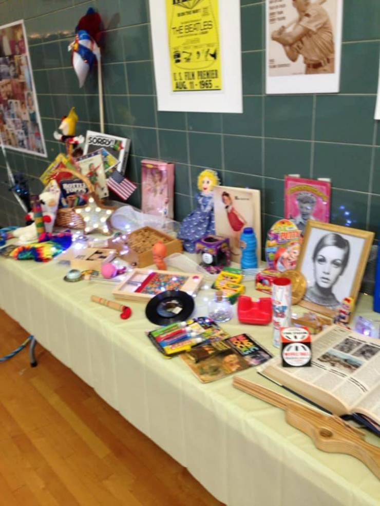 The Nostalgia Table. The sixties revisted..jpg