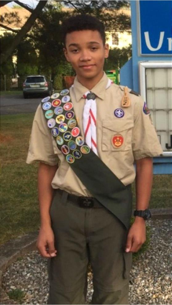 Thomas Haverlock or Troop 104 is Scotch Plains-Fanwood's newest Eagle Scout.