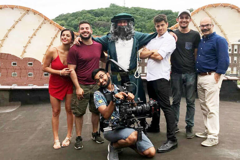 The Cast, Producers and Dir of  Photography of Leo.jpg