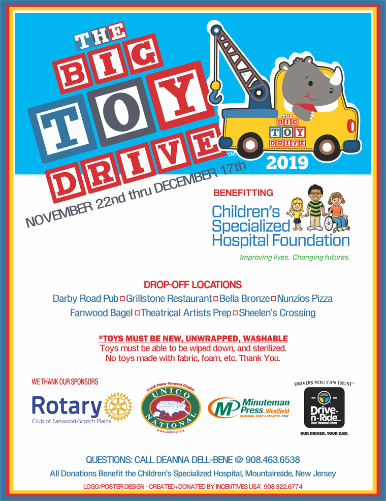 THE BIG TOY DRIVE