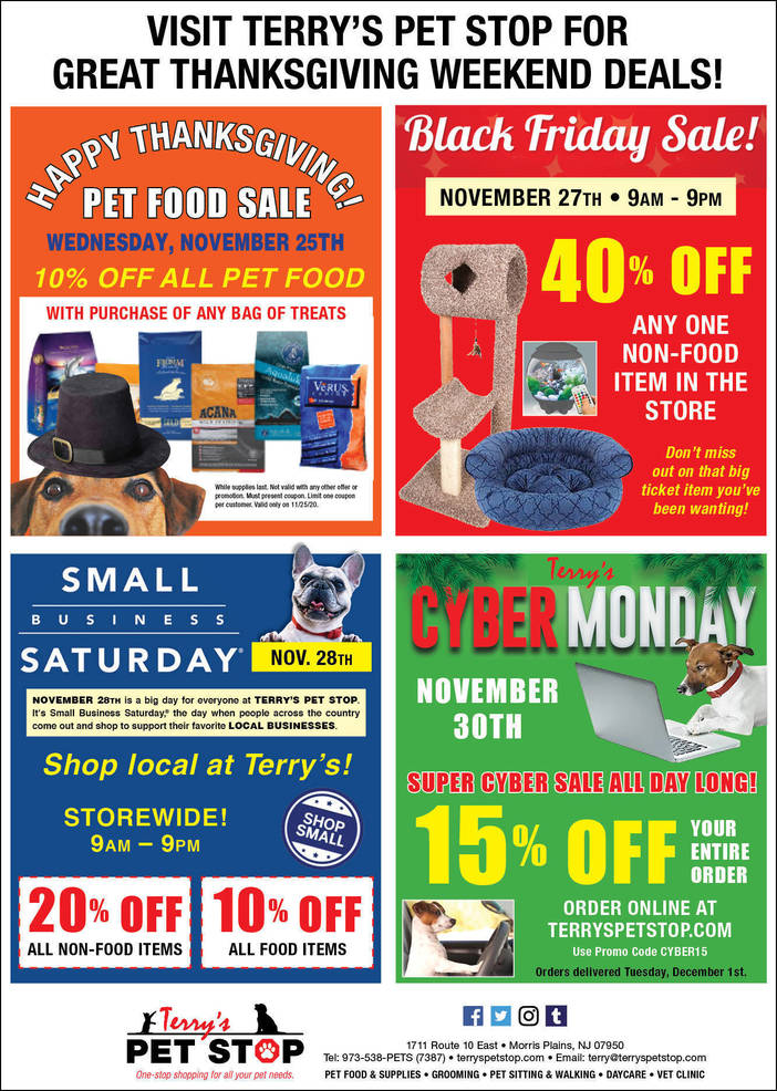 Holiday Gift Guide; Terry's Pet Stop