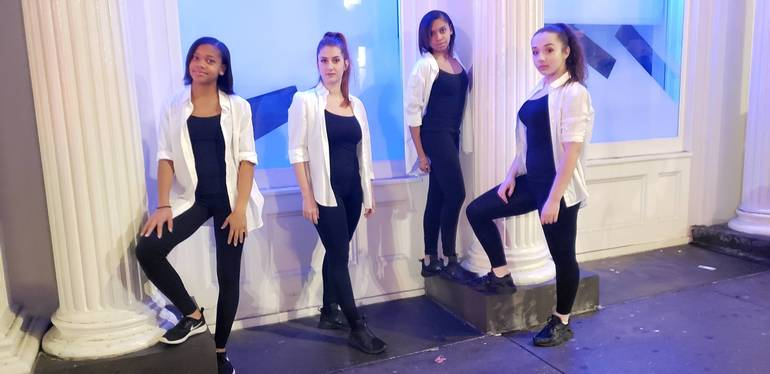 The Prayer Practice Poses - Young Ladies
