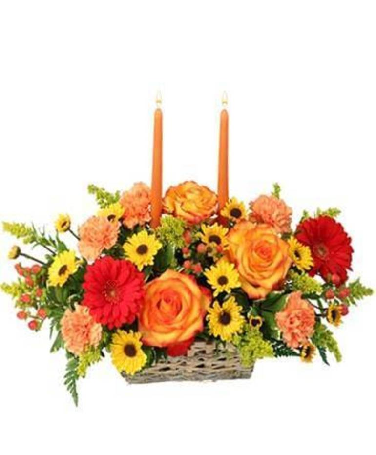Celebrate Thanksgiving with beautiful fresh flowers from A Country Flower Shoppe and More, Colts Neck