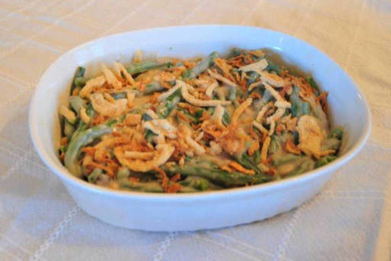 For millions of American families, it's green been casserole time
