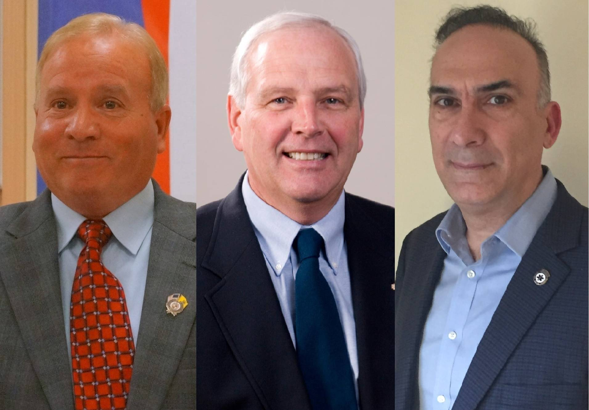 Three contenders for three seats Graphic ©2019 TAPinto Montville.jpg