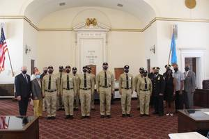 The City of Elizabeth Welcomes 12 Police Recruits