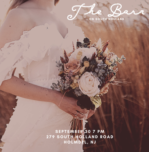 bridal show at the barn on south holland in holmdel