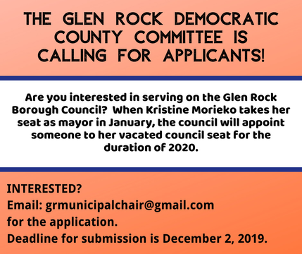 Top story 80c394c60fec2ad8b18e the glen rock democratic county committee is looking for applicants