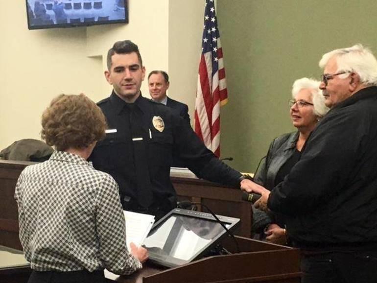 New Bernards Township police officer