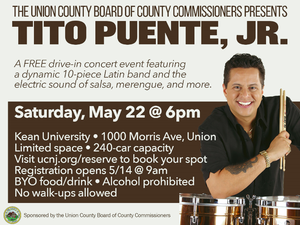 Tito Puente Jr. Brings the Latin Beat to Union County, May 22