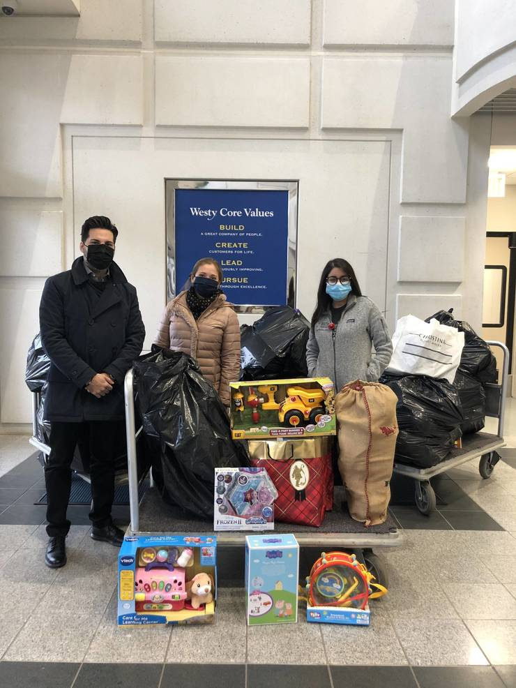 Hackensack Toy Drive Puts Smiles on Children's Faces