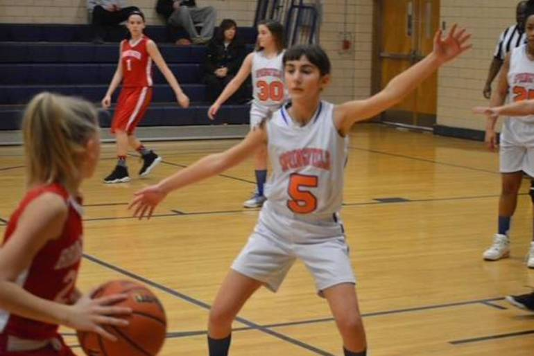 Springfield Eighth Grade Nettes Split Opening Games, Pick up win Over Bound Brook