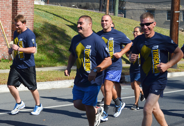 NJ Law Enforcement Torch Run Goes through Westfield, Fanwood,and Scotch Plains