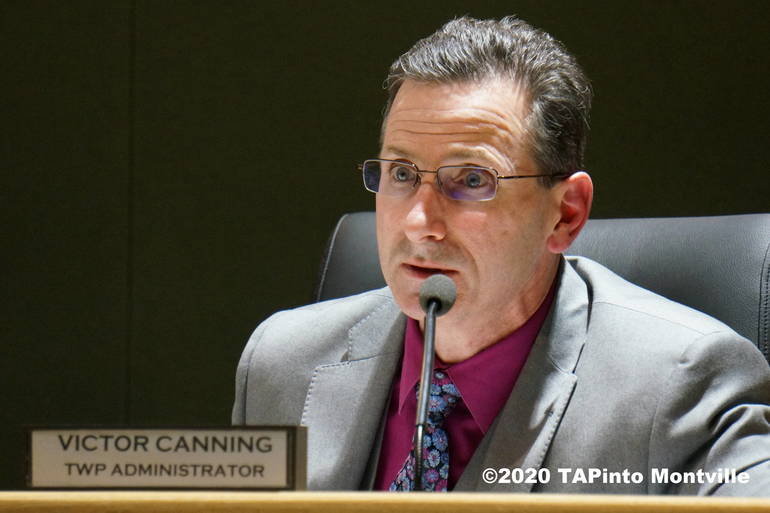 Township Administrator Victor Canning ©2020 TAPinto Montville - file photo.JPG