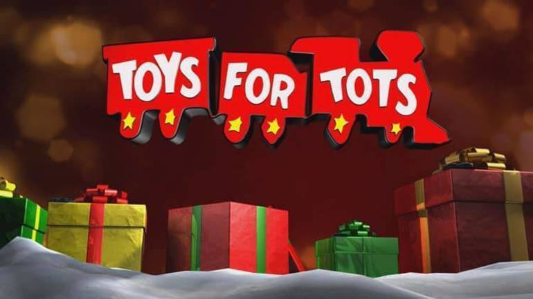 Kenilworth Fire Department Collecting for Toys for Tots