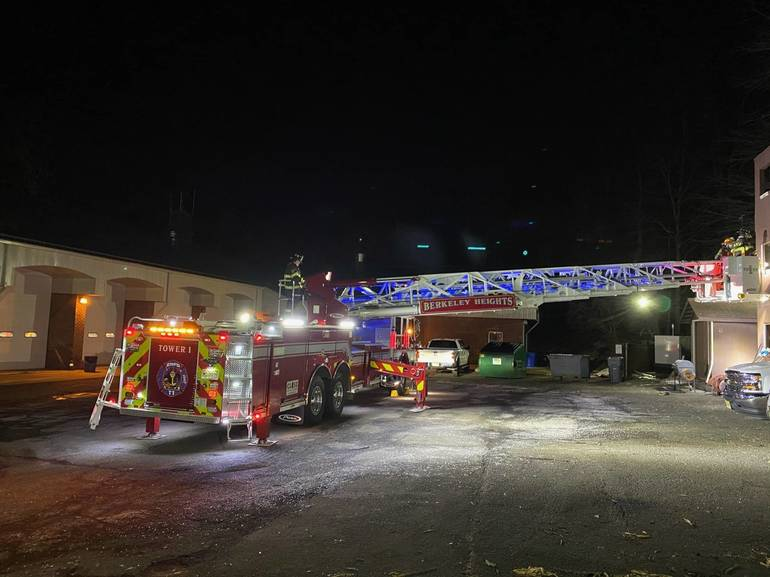 Berkeley Heights Fire Department Responds to 155 Fires, Emergencies and Calls in First Quarter