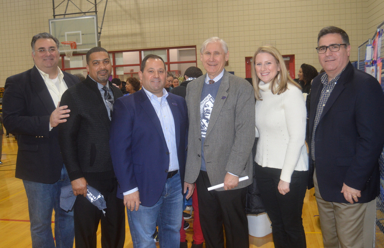 Township Manager Al Mirabella with Mayor Al Smith and the Scotch Plains Council.png