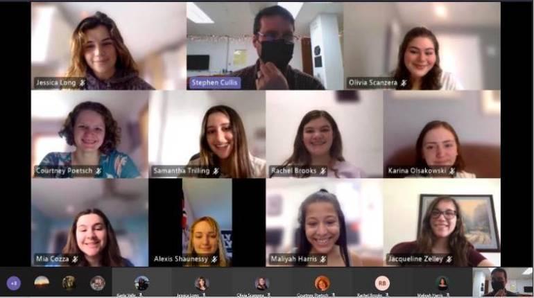 Randolph High School's Tomorrow's Teachers (Virtually) Step into the Classroom