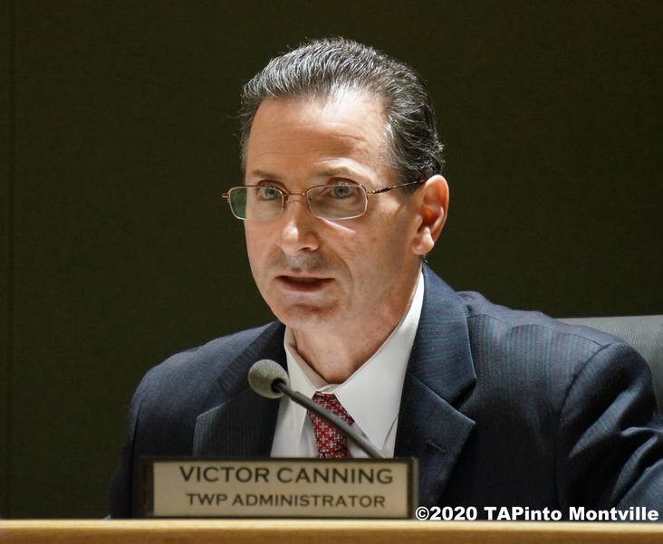 Township Administrator Victor Canning ©2020 TAPinto Montville.JPG