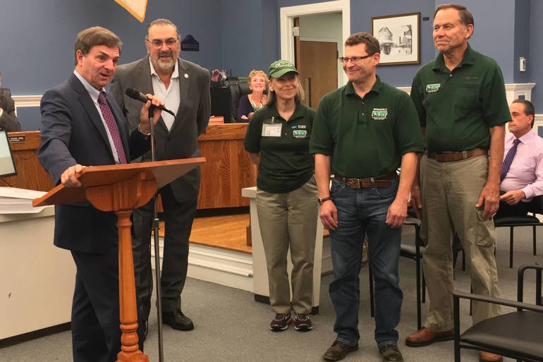 Springfield Township Committee Honors Community Response Team Members, Discuss Ordinance For Public Employees