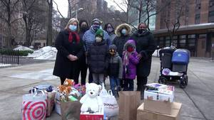 Assembly Member's Toy Drive Nets Gifts for Children