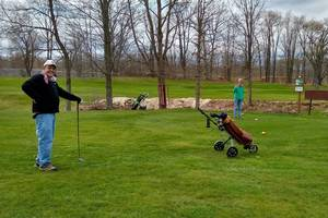 Carousel image 8170223567fa27730cea tom and linda young tee off on opening day at st. bonaventure golf course 10044