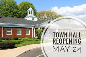 Parsippany Town Hall, Municipal Buildings Will Reopen to the Public May 24th