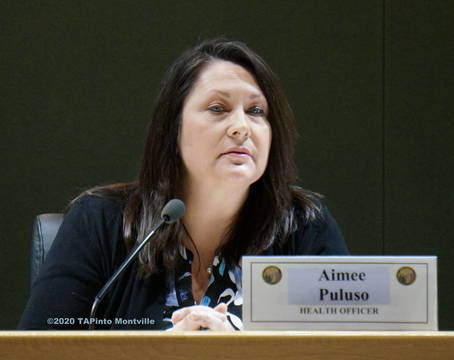 Top story 98fde1f1218d32f8d398 township health officer aimee puluso at a 2018 meeting  2020 tapinto montville
