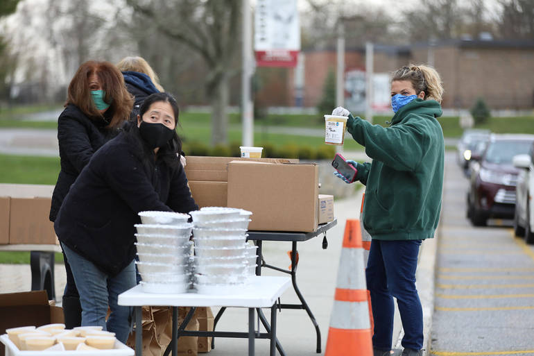 Volunteers, Businesses Step Up to Feed Community with Help from Gullotta House